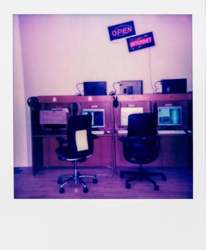 MdbK Internetcafe